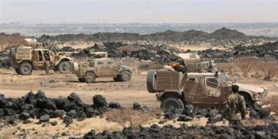 قوات الشرعية تصد هجوما للمليشيات شمال الضالع