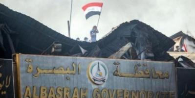 انفجار قنبلة صوتية قرب جامع بالبصرة العراقية