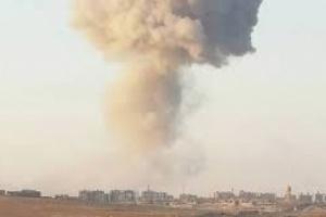 قصف صاروخي على مواقع المليشيا برازح وشدا الحدوديتين مع المملكة