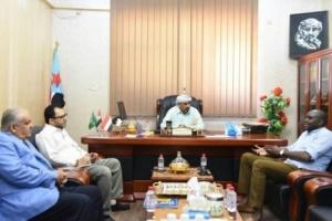 رئيس الانتقالي الجنوبي يلتقي مدير مكتب المبعوث الأممي باليمن