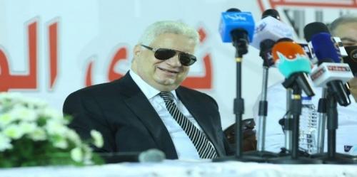 إيقاف مرتضى منصور رئيس نادي الزمالك المصري لمدة عامين