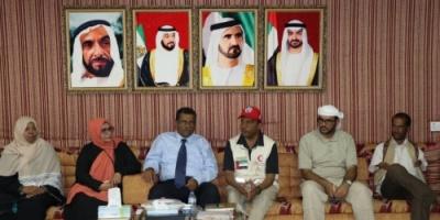 ممثل «الهلال الإماراتي» يلتقي بمدير إدارة الجمعيات والاتحادات والتعاونيات بعدن