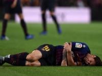 برشلونة: ميسي يغيب عن المشاركة في الكلاسيكو ودوري الأبطال «صور»