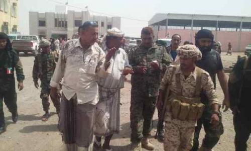 مدير أمن لحج يتفقد مراكز الأمن في المحافظة استعدادا للحالات الطارئة
