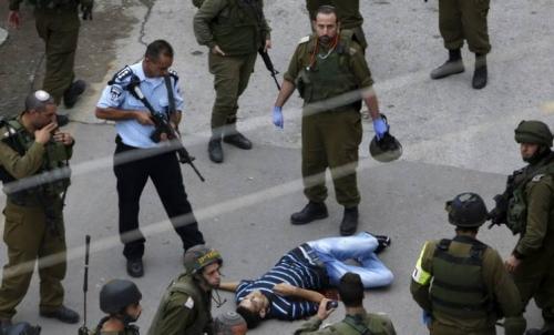 استشهاد فلسطيني برصاص الاحتلال بالقرب من الحرم الابراهيمي