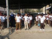 بدء العام الدراسي في عدن وسط فرحة الأهالي
