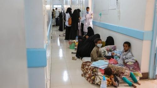 غالبيتهم من الأطفال.. وفاة 141 شخصاً بوباء الدفتيريا في اليمن