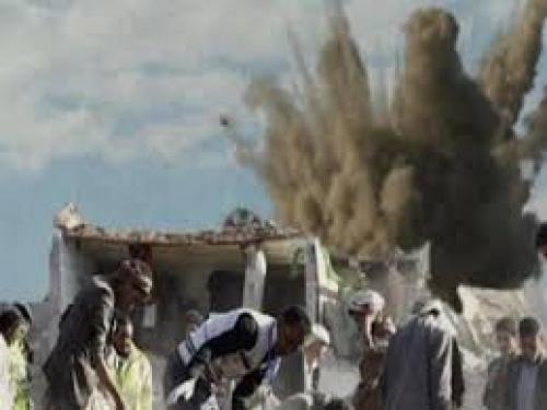 مقتل 8 حوثيين بغارات للتحالف العربي شرق صنعاء