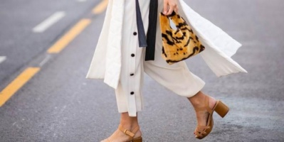 حيلة من خبراء الموضة لتبدين أطول دون أحذية الكعب العالي