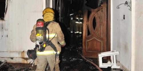 حريق داخل مبنى بوزارة الداخلية الكويتية