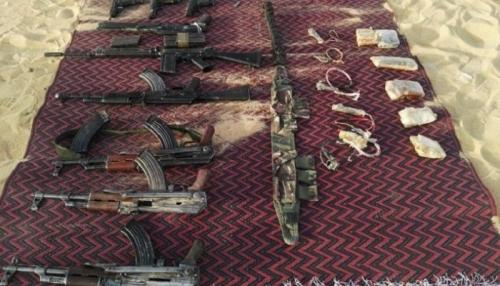 تفاصيل تصفية 11 إرهابيا في مصر