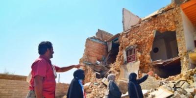 لجان الانتقالي تقترب من إنهاء عملية حصر متضرري إعصار لبان بالمهرة
