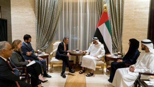 بن زايد: الإمارات ملتزمة بمساعدة المناطق والشعوب المتضررة في مختلف أنحاء العالم