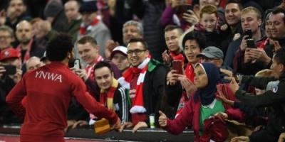محمد صلاح يفاجئ الجميع بهذا التصرف بعد مباراة ليفربول أمس