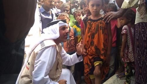 الهلال الأحمر الإماراتي يلبي احتياجات مركز القطابا الصحي بالحديدة