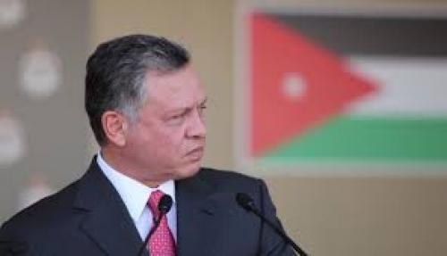 سيول البحر الميت تلغي زيارة ملك الأردن إلى البحرين