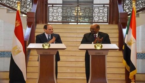 البشير يعلن استئناف الصادرات المصرية إلى السودان