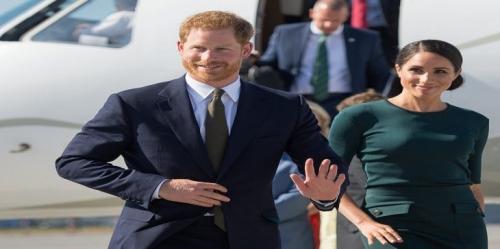 كارثة تُجبر طائرة الأمير هاري وزوجته ميجان ميركل للهبوط الاضطراري