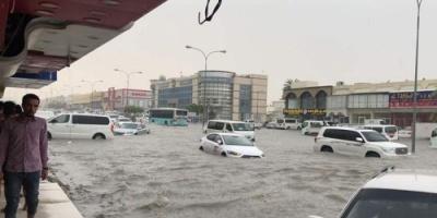الأمطار تعري قطر وتكشف كذب نظام الحمدين أمام العالم