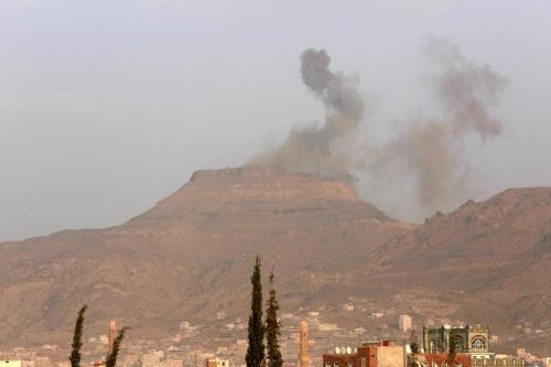 مصرع عشرات الحوثيين بغارة جوية للتحالف في البيضاء