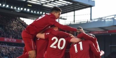 محمد صلاح يقود ليفربول لتصدر الدوري الإنجليزي مؤقتاً