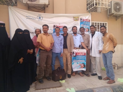 تدشين حملة التحصين الثانية ضد الكوليرا بمديرية البريقة