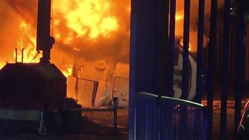 """أنباء عن وفاة مالك نادي ليستر سيتي بعد تحطم طائرته """"فيديو"""""""