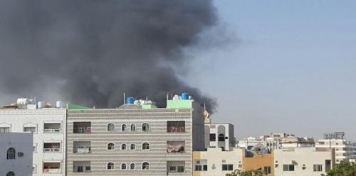 عاجل.. أنباء عن سماع دوي انفجار بالقرب من مطار عدن الدولي