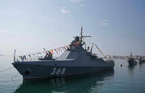 روسيا تعلن بدء اختبار أحدث سفينة دورية