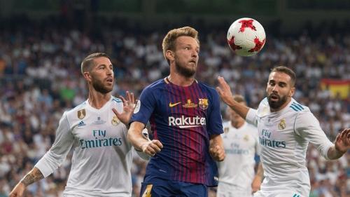 """برشلونة يعذب ريال مدريد في الكلاسيكو وينهي الشوط الأول متقدماً 2-0 """"فيديو"""""""