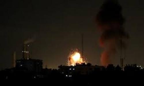 استشهاد 3 أطفال فلسطينيين إثر قصف إسرائيلي على غزة