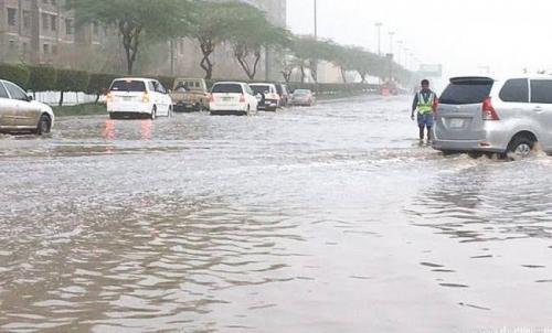 أمطار رعدية على 9 مناطق وانخفاض الحرارة شمال السعودية