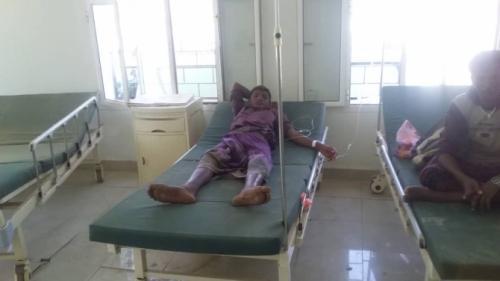 حادث مروع يحصد 7 أشخاص ويصيب آخرين بلحج (صور)