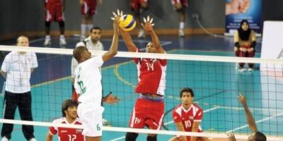 سلطنة عمان تهزم الأردن في البطولة العربية للكرة الطائرة