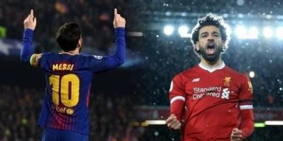 فرمان من ميسي بضم محمد صلاح إلى برشلونة