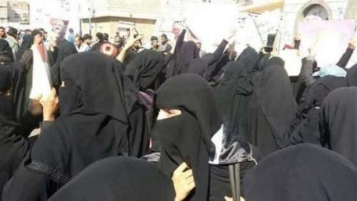 بالفيديو.. شاهد انتفاضة نسائية بصنعاء في وجه الحوثيين