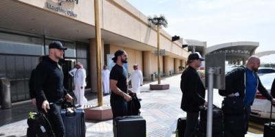 """وصول نجوم الـWWE إلى السعودية  """"صور"""""""