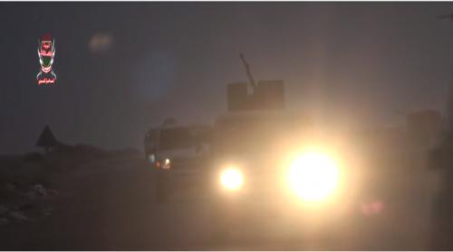 عاجل: بالفيديو.. قوات ضخمة للعمالقة تصل مشارف الحديدة استعدادا لتحريرها