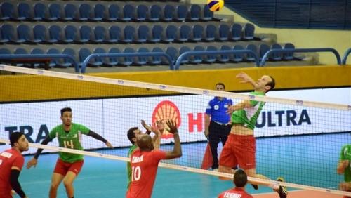 الجزائر تفوز على الأردن في البطولة العربية للكرة الطائرة