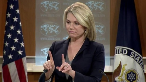 ترامب يعتزم تعيين المتحدثة باسم الخارجية سفيرة بالأمم المتحدة