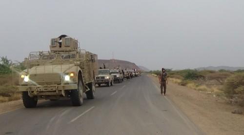ألوية العمالقة تنزع ألغام زرعتها الميليشيات في المناطق المحررة (فيديو)