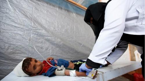 تطعيم أكثر من 235 ألف طفل ضد الكوليرا بعدن