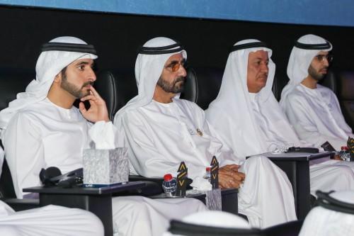 """""""بن راشد"""" يحتفل بالمشاركين فى مبادرة المليون مبرمج"""