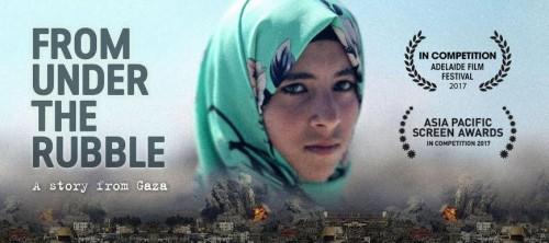 فيلم From Under The Rrubble يفوز بأفضل وثائقي في المهرجان العربي بكاليفورنيا