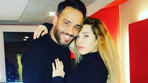 تعرف على وعد رامي جمال لزوجته
