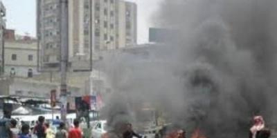انفجار عنيف في مدينة شبام بحضرموت