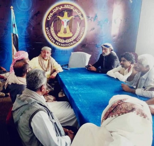 تفاصيل زيارة بن فريد لمقر قيادة الانتقالي في محافظة شبوة