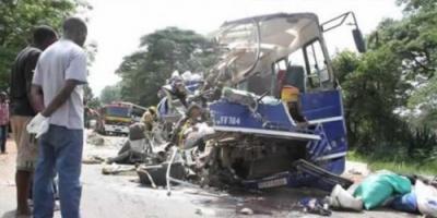 حادث تصادم يحصد 47 على الأقل في زيمبابوي