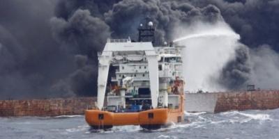 تسرب ماء يؤدي لحادث تصادم بين ناقلة نفط وفرقاطة في النرويج