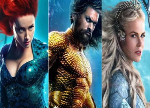 قبل طرحه بدور العرض.. شاهد الصور الدعائية للفيلم المنتظر Aquaman